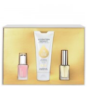 Leighton denny time repair set regalo 75 ml therapy hand cream + 12 ml nail elixir + 12 ml miracle oil