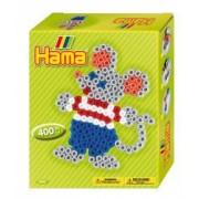 Margele HAMA Midi in cutie speciala 400 buc Soricelul