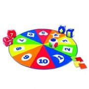 Jocul Cerc si Timp Learning Resources, 5 zaruri gonflabile, 5 saculeti din panza