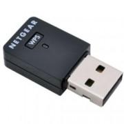 Мрежови адаптер Netgear WNA3100M, 300Mbps Wireless-N/G/B, USB Adapter, компактен