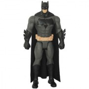 Batman Action Figure with Audio Plastic Superhero Toy Black Grey Color - 12Inches
