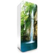 Vízesés, hűtőszekrény matrica, 180 cm