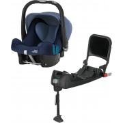 Britax Römer Baby-Safe Plus SHR II Babyschale mit ISOfix Basis, Moonlight Blue