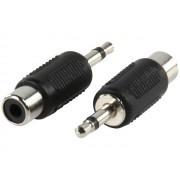 Valueline AC-001 3,5mm mono jack dugó -> RCA aljzat átalakító