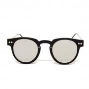 Spitfire Eyewear Sharper Edge Black Silver Mirror Occhiali Da Sole Moda