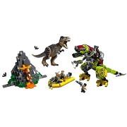 LEGO Jurassic World 75938 T. rex és Dino-Mech csatája