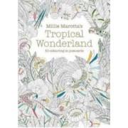 Millie Marottas Tropical Wonderland Postcard Box - Millie Marotta