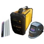 Silex France ® Pack poste à souder 200A + masque de soudure WH221 + 50 électrodes Silex ®
