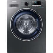 Masina de spalat rufe Samsung Eco Bubble WW70J5446FX, 7kg, 1400rpm, A+++, Display, Inverter, Argintiu
