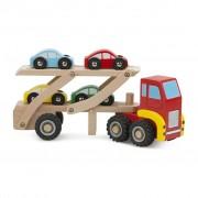 Transportor masini din lemn