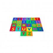Covoras Puzzle Educativ pentru Copii, 26 Piese din Spuma cu Imprimeu Litere Alfabet