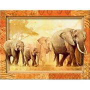 Пазл - «Слоны» 500 шт