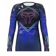 Camiseta Rash Guard Neon Spartanus Fightwear - Feminino