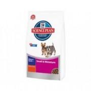 Hill S Science plan canine mature 7+ small& miniature mangime secco gusto pollo kg.1,