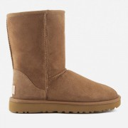 UGG Women's Classic Short II Sheepskin Boots - Chestnut - UK 7.5 - Tan