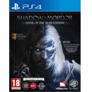 Middle-Earth: Shadow of Mordor GOTY, включва : The Lord of The Hunt Story Mission, The Bright Lord Story Mission, Всички издадени досега: Runes, Skins, Warband Missions, Challenge Modes, за PS4