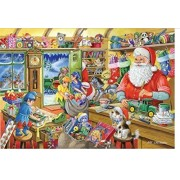 The House Of Puzzles Santas Workshop Christmas Collectors Edition No.5 1000 Piece Jigsaw Puzzle