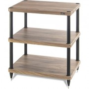 solidsteel S3-3 Audio Rack 3 Shelf- Walnut