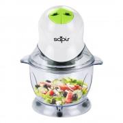 Чопър/Зеленчукорезачка SAPIR SP 1111 N, 400W, 1 литър, 2 скорости, Бял