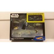 Hot Wheels Starships Star Wars Hero & Villain Starships 11-pack including Tie Striker and Rebel U-Wing Fighter