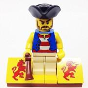 "Minifigure Packs: Lego Pirates Bundle ""(1) Pirate Thomas Paine"" ""(1) Figure Display Base"" ""(1) Figure Accessory"""