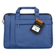 """Чанта за лаптоп Canyon Fashion toploader Bag, до 15.6"""" (39.62 cm), полиестер, секретен джоб, водоустойчива, синя"""