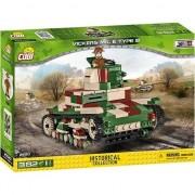 Set de constructie Cobi, Small Army, Tanc VICKERS MK E TYPE B, 382 piese