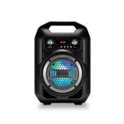 Multilaser Caixa De Som Multilaser Portátil 4 Polegadas Bluetooth/FM/SD/P2/USB Preta - SP256 SP256