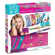 Style Me Up Easy Knit Bracelets - Multi Color