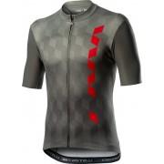 Castelli Fuori tricou ciclism bărbați Forest Grey M