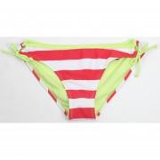 Bikini 1 Pieza Color Rayado Rojo Blanco Stilo Tv92