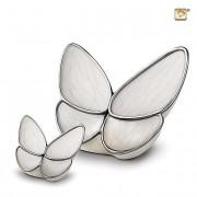 Butterfly Urnen Voordeelset Wit (3.1 en 0.05 liter)