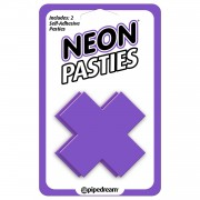 Neon Luv Touch Copricapezzoli Neon Pasties Violet