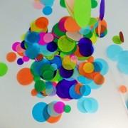 picwrap Confetti Circles 4 Different Sizes of Circles Dots Dots Table Confetti 9 Different Colors