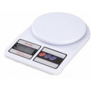 gobagee SF400 Electronic Kitchen Digital Weighing Scale, Multipurpose (White, 10 Kg) Weighing Scale(White)