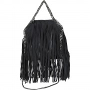 Falabella Shaggy Deer Fringed Mini Tote