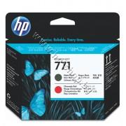 Глава HP 771, Matte Black + Chromatic Red, p/n CE017A - Оригинален HP консуматив - печатаща глава