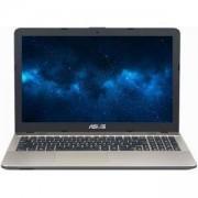 Лаптоп ASUS X541UA-GO1372, 15.6 инча Ultra Slim, HD, Glare, 1366x768, 4 GB DDR4, Intel Core i3-7100U, Intel HD graphics 620, 1 TB HDD, Черен