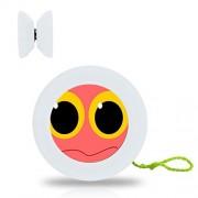 New Style YoYo Ball Big Eyes Professional Responsive Yo-Yo Bearing Spinning Ball String Spin Toys-White