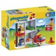 Комплект Плеймобил 6777 - Преносим пожарникарски участък, Playmobil, 290845