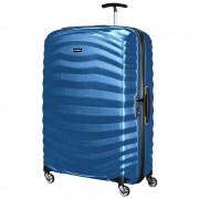 Samsonite Trolley XL 81cm 4 Ruote Rigido Leggero 2,8kg Lite-Shock Midnight Blue