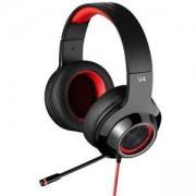 Геймърски слушалки Edifier V4, Червено-черни