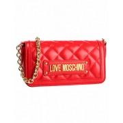 Love Moschino Handtasche mit Kettenriemen Love Moschino, rot