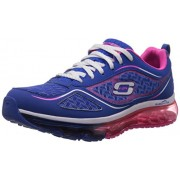 Skechers Women's Skech-Air Supreme Blue and Hot Pink Multisport Training Shoes - 5 UK/India (38 EU) (8 US)
