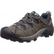 KEEN Men's Targhee II Hiking Shoe,Gargoyle/Midnight Navy,9.5 M US