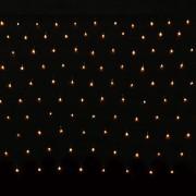 vidaXL Мрежа от 200 коледни LED лампички, 3.2 х 1.5 м.