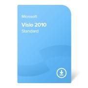 Microsoft Visio 2010 Standard, D86-04533 certificat electronic