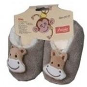 Geen Kinder dieren pantoffels/slofjes aap