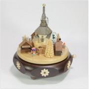 Spieldosen Erzgebirge Spieldose Spieluhr Seiffener Weihnachtsmarkt a.d. Erzgebirge