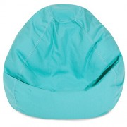 Majestic Home Goods Classic Bean Bag, Small, Teal